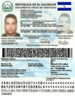 Documento Único de Identidad (DUI) del representante legal
